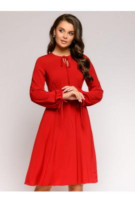 Платье цвета марсала длины мини